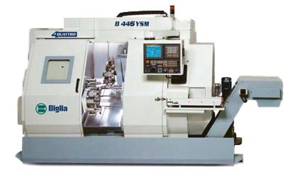parco macchine B445YSM - Mauritech tornitura e meccanica di alta precisione dal 1998