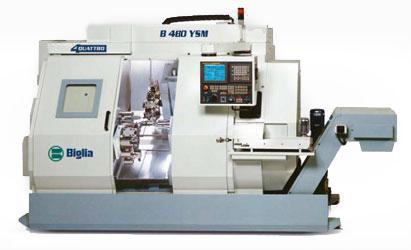 parco macchine B480YSM - Mauritech tornitura e meccanica di alta precisione dal 1998